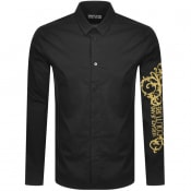 Product Image for Versace Jeans Couture Long Sleeved Shirt Black