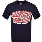 Product Image for Billionaire Boys Club Puff Print Logo T Shirt Navy