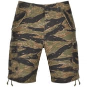 Product Image for Ralph Lauren Washed Cotton Cargo Shorts Khaki