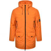 Product Image for Lyle And Scott Wadded Longline Parka Orange