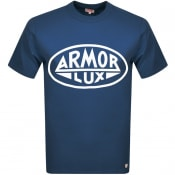 Product Image for Armor Lux Heritage Serigraphy T Shirt Navy