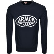 Product Image for Armor Lux Heritage Paris Sweatshirt Navy