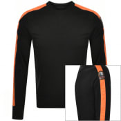 Product Image for Parajumpers Armstrong Crew Neck Sweatshirt Black