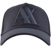 Product Image for Armani Exchange Logo Cap Navy