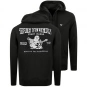 Product Image for True Religion Reflective Full Zip Hoodie Black