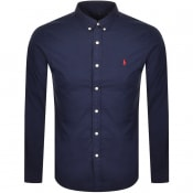 Product Image for Ralph Lauren Chino Long Sleeved Shirt Navy