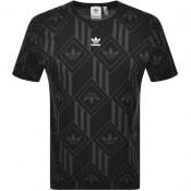 Product Image for adidas Originals Monogram T Shirt Black