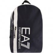 Product Image for EA7 Emporio Armani Logo Backpack Navy