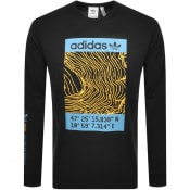 Product Image for adidas Originals Long Sleeved T Shirt Black