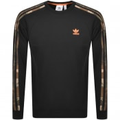 Product Image for adidas Originals Camouflage Sweatshirt Black