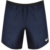 Product Image for Nike Training Pro Dri Fit Logo Shorts Navy