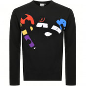 Product Image for Money Super Sig Chenille Sweatshirt Black