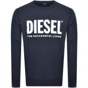 Product Image for Diesel Division Sweatshirt Navy