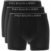 Product Image for Ralph Lauren Underwear 3 Pack Boxer Shorts Black
