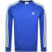 Product Image for adidas Originals Three Stripe Sweatshirt Blue