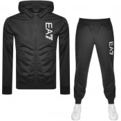 Product Image for EA7 Emporio Armani Logo Tracksuit Black