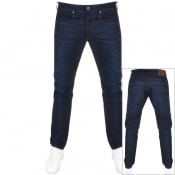 Product Image for G Star Raw 3301 Tapered Fit Jeans Blue