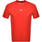 Product Image for HUGO Dumed203 Crew Neck Short Sleeve T Shirt Red